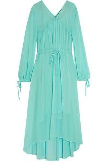 Maje Turquoise Maxi Dress