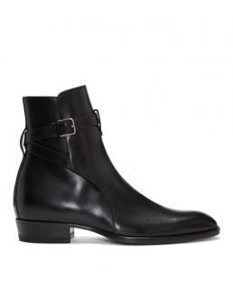 Saint Laurent Jodhpur Leather boots