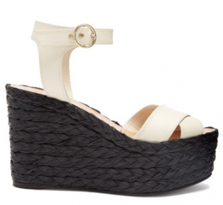 Valentino Nuevitas Cross Strap Wedges EU 35.5