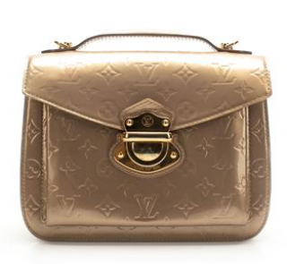 Louis Vuitton Beige Poudre Vernis Mirada Crossbody Bag