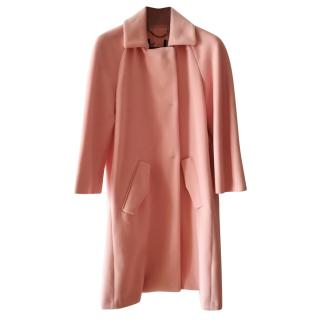 Max & Co candy pink wool coat