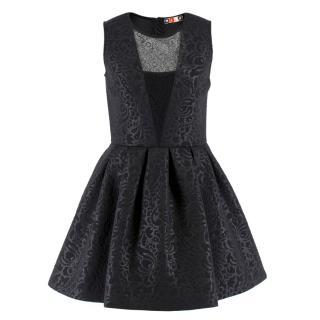 MSGM Jacquard Skater Dress