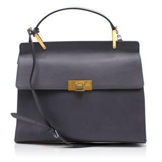 Balenciaga Le Dix Cartable Flap Satchel Bag