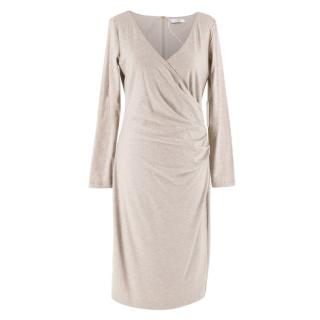 MaxMara Wool Wrap Dress