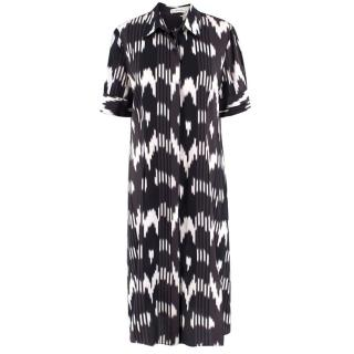 Altuzarra Silk Printed Midi Dress