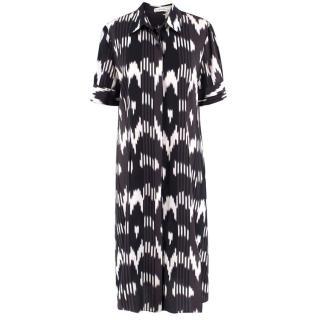 Altuzarra Silk Printed Midi Dress