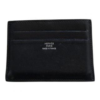 Hermes Leather Card Holder Wallet