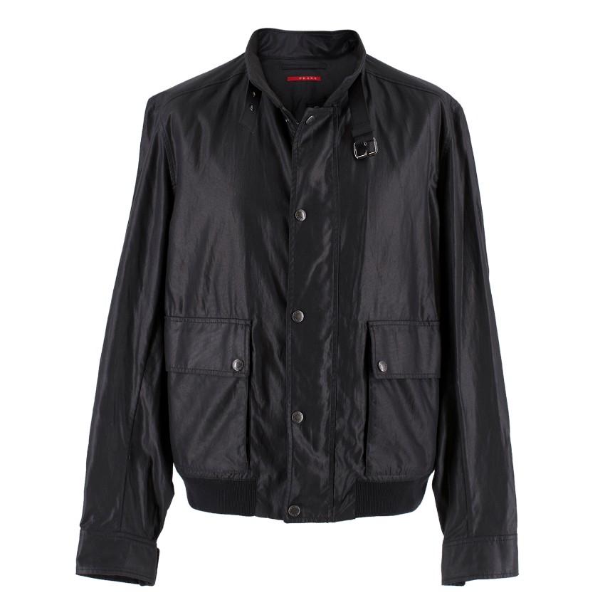 Prada Men's Black Jacket