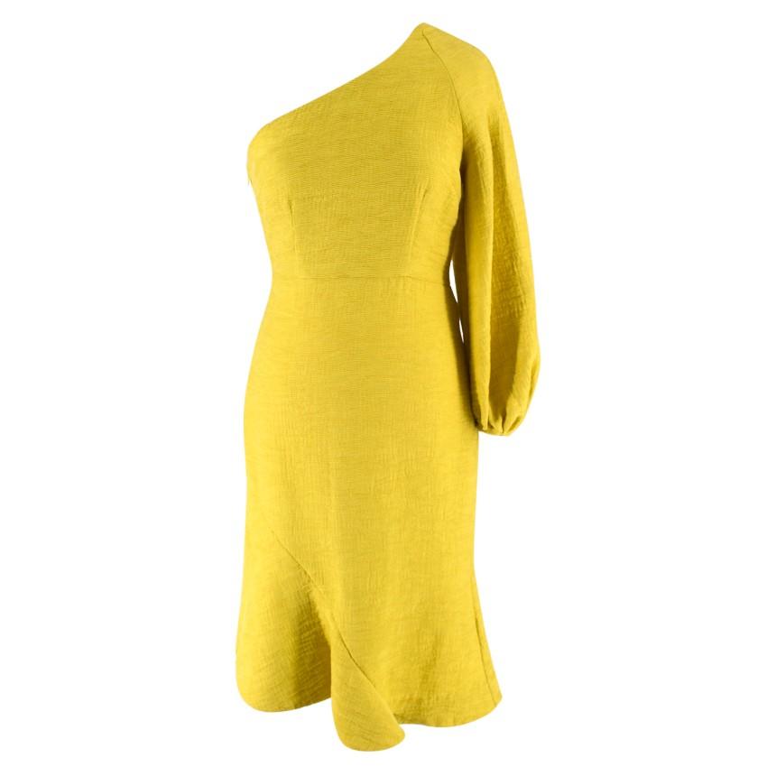 6932d6cc7cb43 Elliatt One Shoulder Ruffle Mini Dress | HEWI London