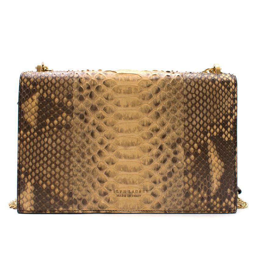 dfb17e0ffd22 Ralph Lauren Python RL Chain Bag. 29. 12345678910. 1 ∕ 10