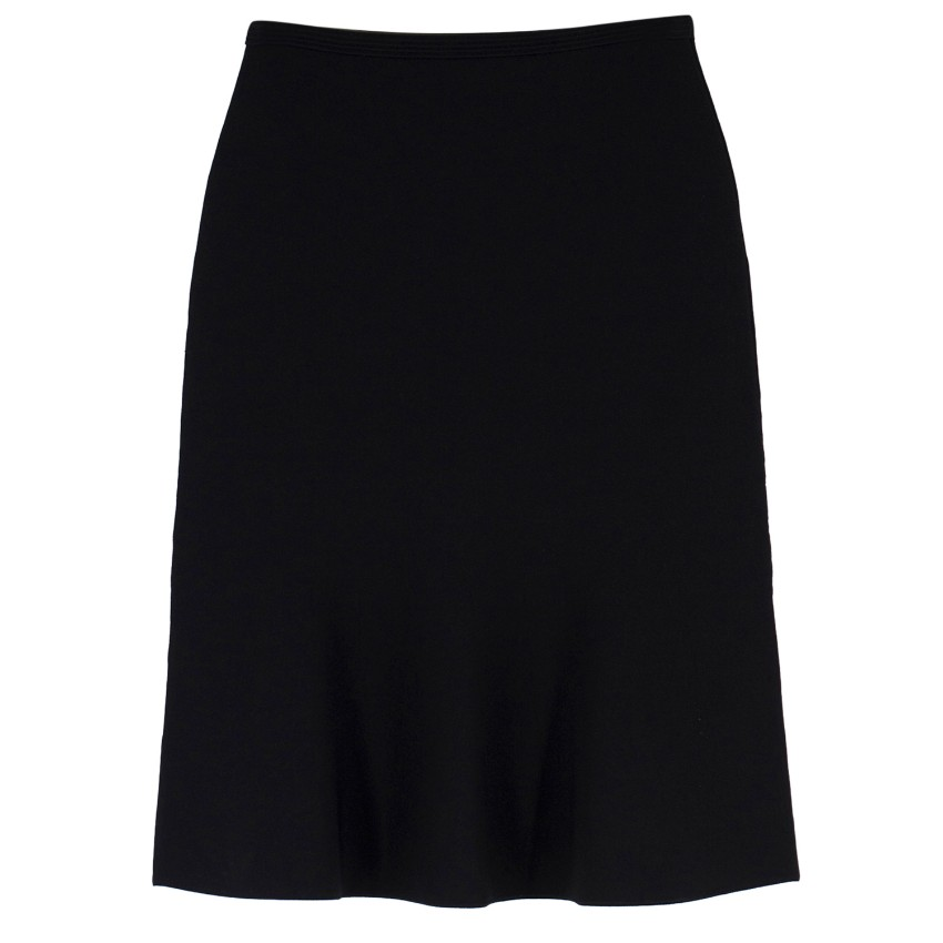Diane Von Furstenberg High-Waisted A-Line Knit Skirt