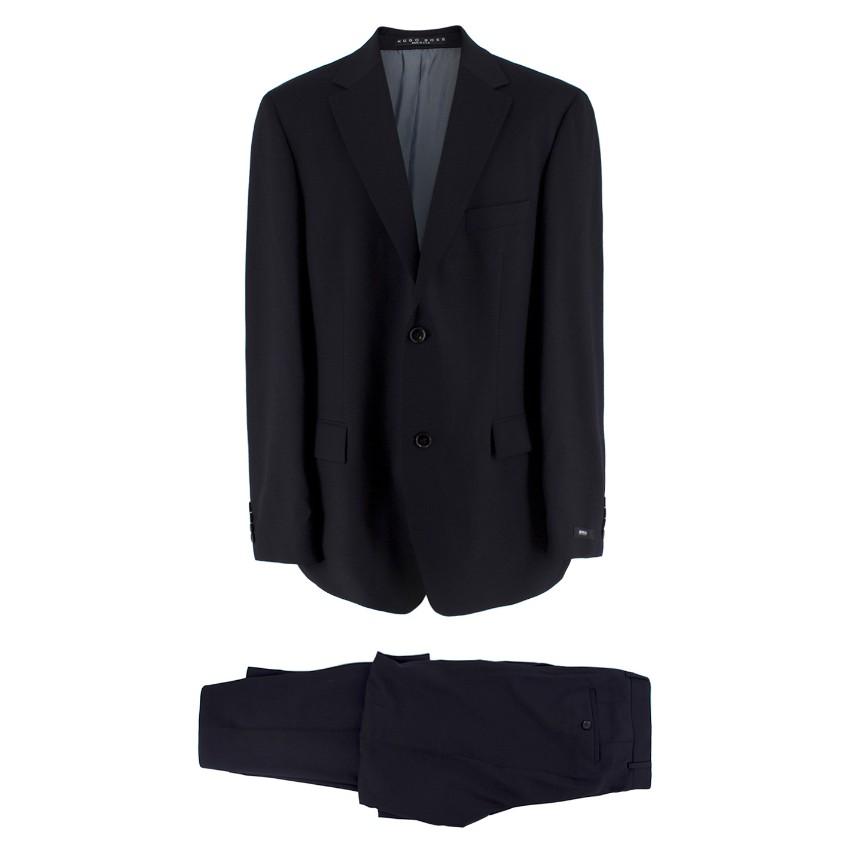 Boss Hugo Boss Wool Black Suit