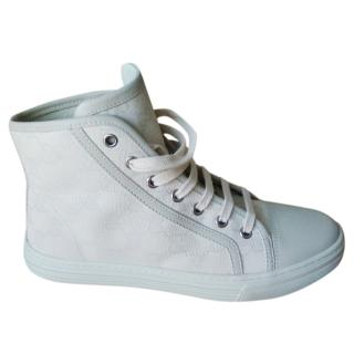 Gucci GG Supreme high-top trainers