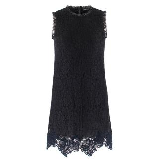 Dolce & Gabbana Black Lace Sleeveless Dress