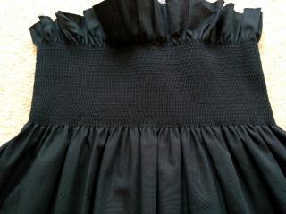 MM6 Cropped Ruffled Sleeveless Top