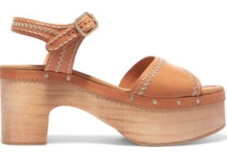 Sandro Wooden 'Audrey' Sandals