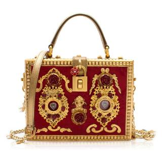 Dolce & Gabbana Embellished Box Bag