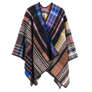 Missoni Wool Blend Checked Shawl