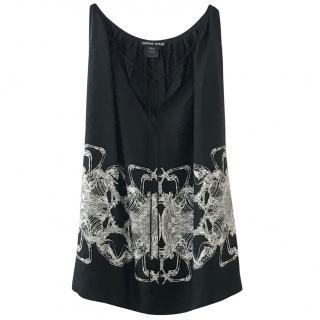 Thomas Wylde silk sleeveless top