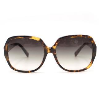 Dita Supa-dupa Oversized Tortoise Shell Sunglasses