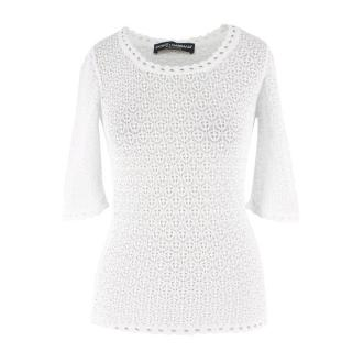 Dolce & Gabbana Crochet Top