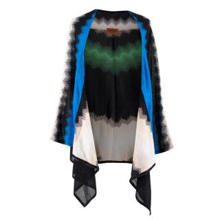 Missoni Metallic Knit Cape