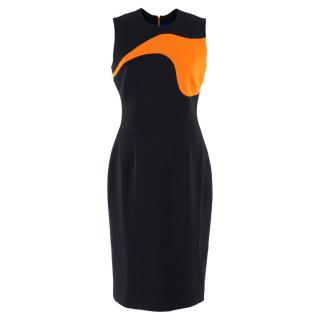 Roksanda Colour Block Midi Dress