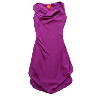 Vivienne Westwood magenta dress