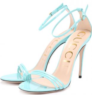 Gucci Aquamarine Strappy Sandals