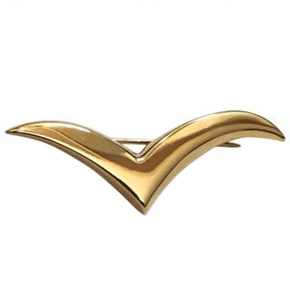 Tiffany And Co Paloma Picasso 18K Gold Vintage Seagull pin brooch