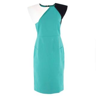 Roland Mouret Sleeveless Colour Block Dress