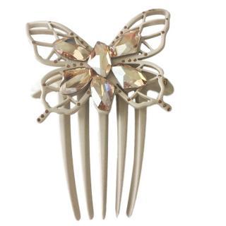 Alexandres De Paris Butterfly Hair Grip
