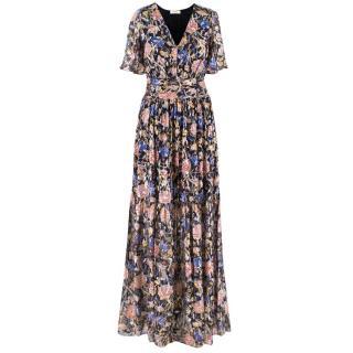 Ba&sh Floral Printed Maxi Dress