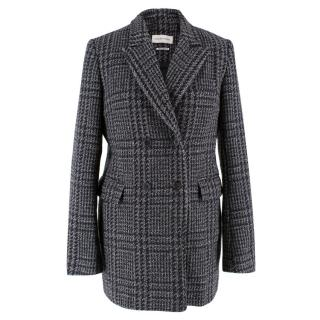 Isabel Marant Etoile Wool Checked Coat