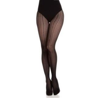 Wolford Black Johanna Tights