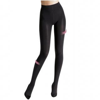 Wolford Maroon Shape & Control Tights