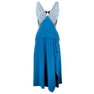 Roland Mouret 'Kao' Chevron Lace Dress