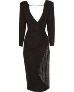 Thomas Wylde Super Charged Embellished Jersey Dress