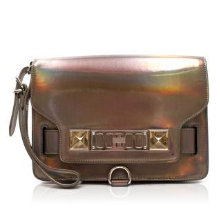 Proenza Schouler Holographic Handheld Bag