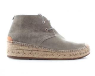 Rag & Bone 'Geneva' Suede Espadrille Boots