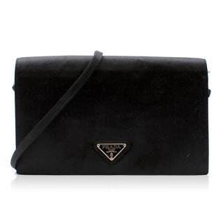 Prada Satin Mini Flap Bag