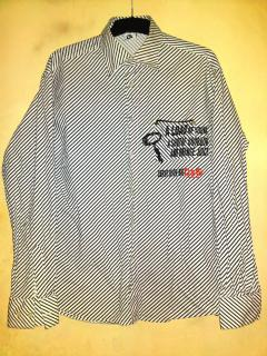 Dolce & Gabbana fitted striped cotton shirt
