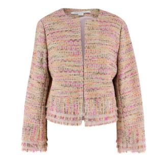 Diane von Furstenberg Pink Tweed Jacket