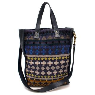 Sophie Hulme Embroidered Tote Bag