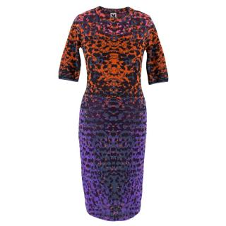 Missoni Multi-Coloured Stretch Knit Dress