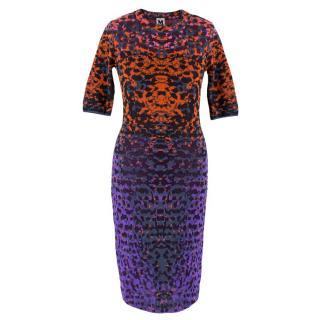 Missoni Multi-Coloured Stretch Knit Dress