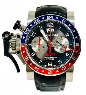 Graham Chronofighter Oversize GMT Chronograph Men's Watch