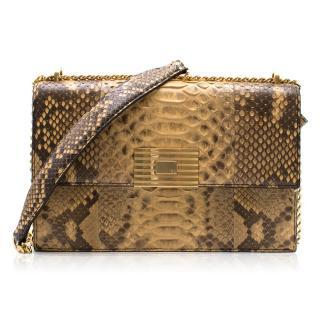 Ralph Lauren Python RL Chain Bag