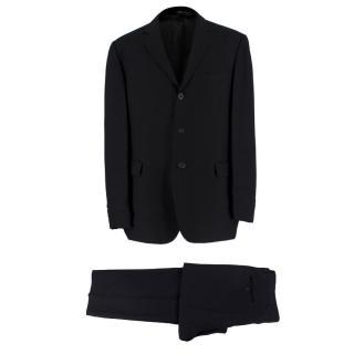 Dolce & Gabbana Classic Black Suit