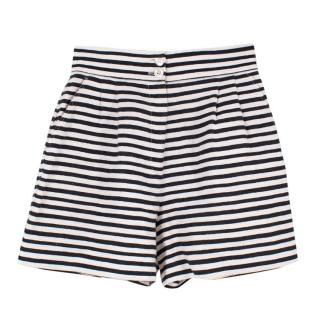Dolce & Gabbana Linen Striped Shorts